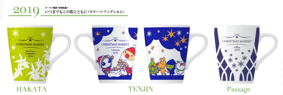 2019クリスマスマーケットマグカップ